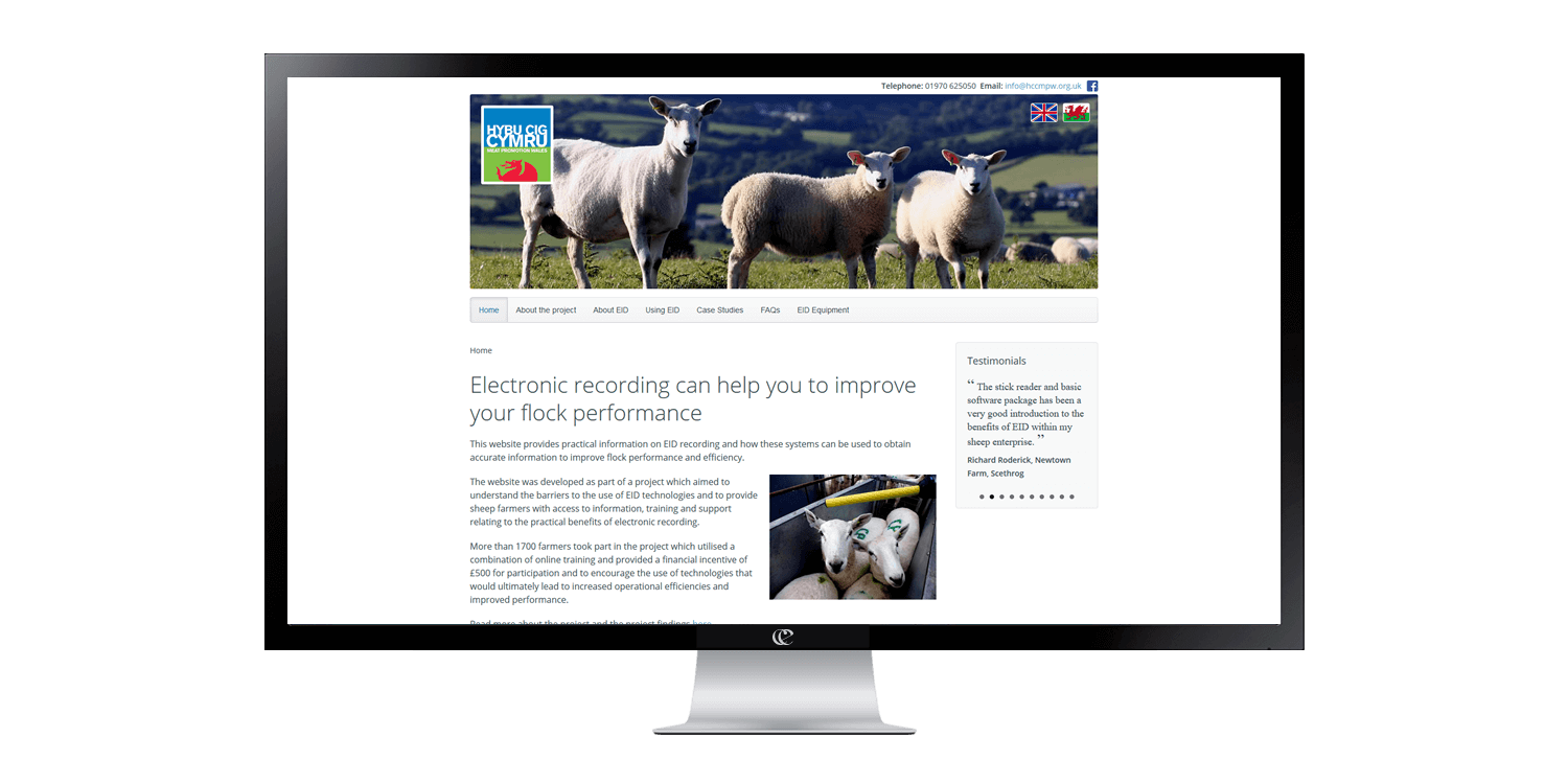 Ewe manage IT website design and development by create/enable on a desktop.